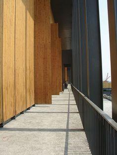 Wang Shu's Ningbo Contemporary Art Museum : 2012 Pritzker Prize