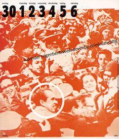 Jan Van Toorn / calendrier 1972-73