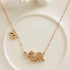 MOM & BABY ELEPHANT NECKLACE Giveaway