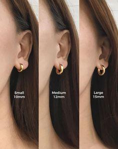 Emerald Earrings with Round Diamonds in Gold / Emerald Green Earrings / Emerald Stud Earrings / May Birthstone - Fine Jewelry Ideas Bar Stud Earrings, Silver Hoop Earrings, Crystal Earrings, Mini Hoop Earrings, Earrings Uk, Silver Hoops, Chandelier Earrings, Bijoux Piercing Septum, Emerald Green Earrings