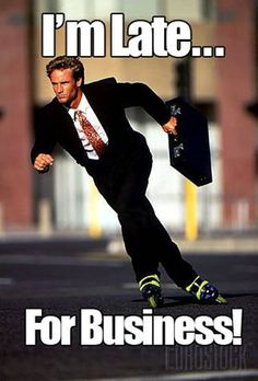 Rollerblades = business.