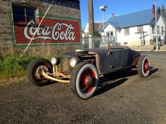 1926 Model T Ford Roadster Vintage Hot Rat Rod