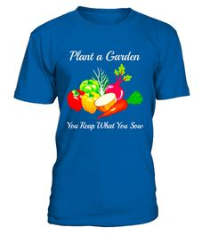 "# Gardening T-Shirt | Garden Vegetables | Reap What You Sow .  Special Offer, not available in shops      Comes in a variety of styles and colours      Buy yours now before it is too late!      Secured payment via Visa / Mastercard / Amex / PayPal      How to place an order            Choose the model from the drop-down menu      Click on ""Buy it now""      Choose the size and the quantity      Add your delivery address and bank details      And that's it!      Tags: Plant a garden, you reap…"
