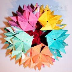 Origami, Abstract, Artwork, Design, Craft Tutorials, Christmas, Dekoration, Summary, Work Of Art