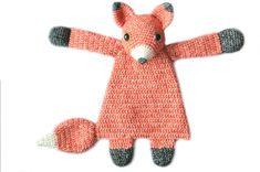 Duo Deal: Fox Ragdoll and Baby Fox mini Ragdoll crochet affiliate
