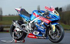Download wallpapers Suzuki GSX-R600, 2018, racing motorcycle, sportbike, Japanese motorcycles, Suzuki