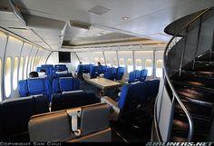 Iran Air Boeing 747SP-86 interior