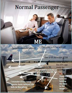 This Is Me On Every Flight :l
