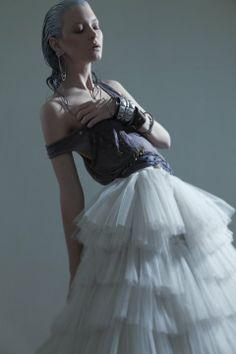 dress: Makany Marta photo: Oleg Borisuk styling: Hajnalka Bognar make-up: Viki Gaspar Ballet Skirt, Make Up, Victorian, Skirts, Character, Dresses, Style, Fashion, Vestidos