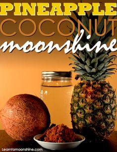 pineapple coconut moonshine
