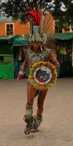 Aztec Dancer . Mexico