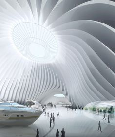 Taichung Convention Center / MAD Architects,