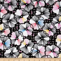 Moxie Trixie Black by Erin McMorris for Free Spirit $7.36/y