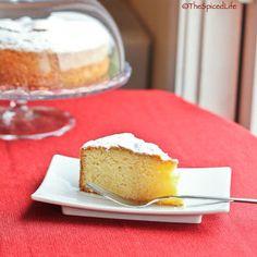 Torta Paradiso: Italian Paradise Cake with lemon and vanilla