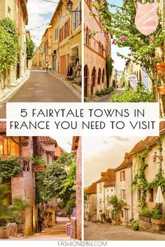 Southwest France Travel Guide to 5 Amazing Towns - Grace J. Silla : hidden gems in southwest France Europe Destinations, Europe Travel Tips, Travel Abroad, European Travel, Travel Guide, Holiday Destinations, Cool Places To Visit, Places To Travel, The Places Youll Go