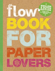 In Flow Book for Paper Lovers 4 we've aimed to create the sense of being in a retro office with labels, stickers, cards, stationery and so much more. Book Journal, Bullet Journal, Art Journals, Paper Book, Make Me Happy, Paper Cutting, Bujo, My Books, This Book