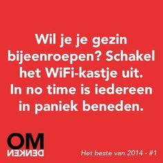 Wi-fi kastje uitschakelen