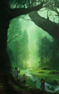 Concerning Hobbits by Jorge Jacinto