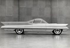vintage futuristic cars - Google Search