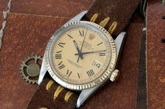 ROLEX VINTAGE DATEJUST OYSTER PERPETUAL 1601 STAINLESS STEEL/18K. GOLD - 1973  | eBay