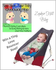 Tiny Love Take Along Bouncer Review & Giveaway
