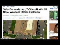 """http://pinterest.com/pin/7248049373517237/ http://pinterest.com/pin/7248049373515751/ Explosion at New Jersey Naval Station Leaves 8 Hurt! - """"Dahboo77? Creep... *E.T. is coming to visit you on a chemtrail and says:* (That's right, asshole! On one of your FAKE CHEMTRAILS... Question? Why didn't you put up a report on BBC's Global Warming and on Live CNN? Oh, that's right... You choose to ignore, hide and lie... You're a joke! lmao)"""""""
