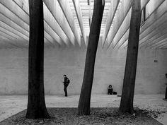 Pavillion d'exposition nordique, Biennale de Venise, par Sverre Fehn, 1962