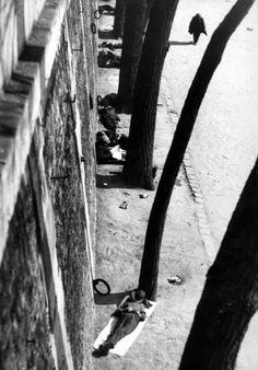 by André Kertész Siesta, Paris, 1927