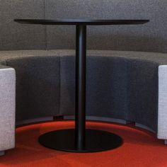 TOP tables are visually slender yet structurally steady side table solutions that enable ergonomic and flexible work. Flexible Working, Lounge Areas, Simply Beautiful, Office Furniture, Tables, Top, Home Decor, Mesas, Living Rooms