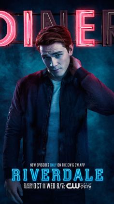 """Archibald """"Archie"""" Andrews is a main character on Riverdale. He is portrayed by . Riverdale Poster, Kj Apa Riverdale, Riverdale Memes, Riverdale Cast, Riverdale High School, Archie Andrews Riverdale, Archie Comics Riverdale, The Cw, Orphan Black"""