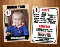 Free Printable Baseball Birthday Party Invitations Birthday Party