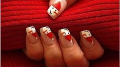 christmas images, image search, & inspiration to browse every day. Christmas Nail Designs, Christmas Images, Holiday Nails, Christmas Nails, Nailart, Snowman Nails, Long Natural Hair, Funky Nails, Protective Hairstyles