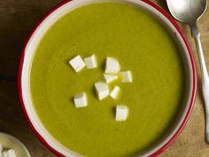 Zucchini Soup with Tortilla Crisps