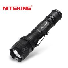 NITEKING N40 CREE LED tactical Flashlights Linterna Torch Light Hunting Flash Light