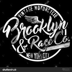 brooklyn watercolor graphic