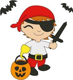 Silhouette Design Store: costume kids pirate