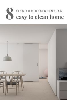 Here are 8 of the design choices and fixtures that make our home easy to clean, and 3 things I would do differently next time.