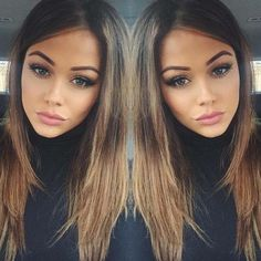 ??nt?r??t: @jade3644? (Hair Tips Brunette)