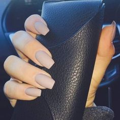 Matte Nude Nails | NAILed It! | Be Exceptional With Your Back to School Nail Designs
