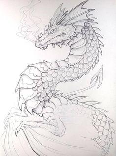 Pen Dragon by Lucieniibi on DeviantArt Pen Dragon by Lucieniibi<br>