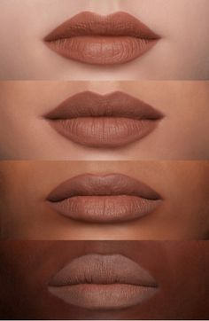 MAC Nude Lipstick: Taupe (M); liner - Hover