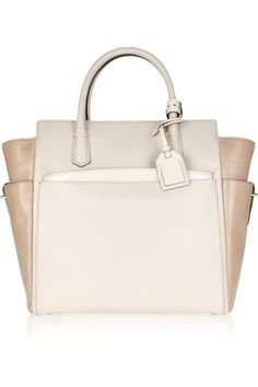 Reed Krakoff atlantique two-tone leather tote 2013