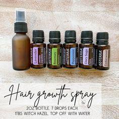 Essential Oils For Hair, Essential Oil Uses, Doterra Peppermint, New Hair Growth, Doterra Essential Oils, Hair Oil, Diffuser Blends, Oil Diffuser, Natural Hair Styles