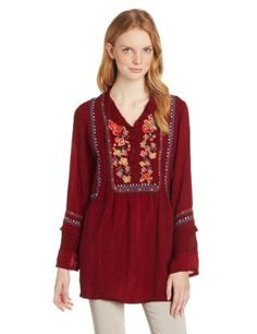 Johnny Was Women's Madrid Blouse