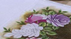 Pintura Rosas por Markinho Oliveira - 09/06/2017 - Mulher.com - P1/2