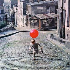 le ballon rouge, the Red Balloon film shot inspiration