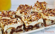 Leckere Rezepte: Sahne Pudding Kuchen