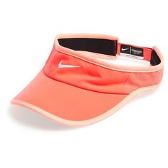 Nike 'Feather Light 2.0' Dri-FIT Visor ($13) ❤ liked on