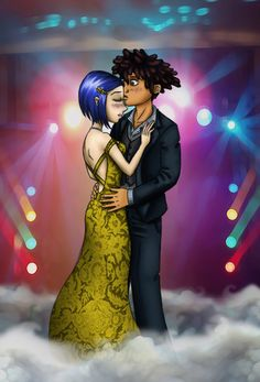 Coraline and Wybie at Prom by JenKristo on DeviantArt