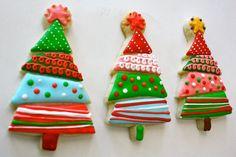 Weihnachtsplätzchen einfach - Weihnachtsarrangements und Ideen mit Leckerbissen